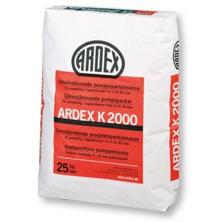 ARDEX K 2000 Savaime išsilyginantis mišinys