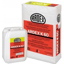 ARDEX K 60 Savaime išsilyginantis mišinys, latekso pagrindu