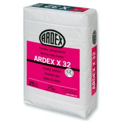 ARDEX X 32 Elastingas klijavimo skiedinys