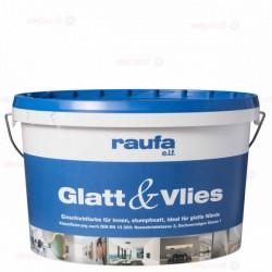 RAUFA Glatt&Vlies E.L.F. dažai luboms ir sienoms